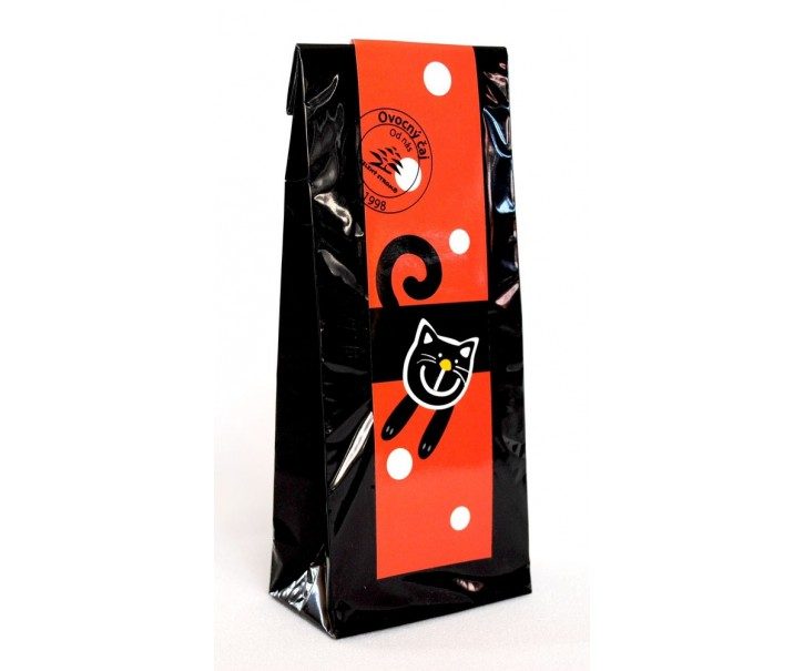 Ovocný čaj - červená veselá kočka