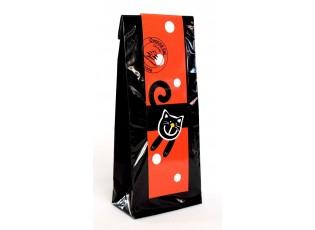 Černý čaj - červená veselá kočka