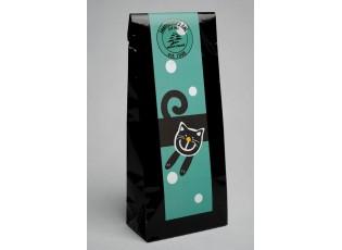 Černý čaj - modrá veselá kočka