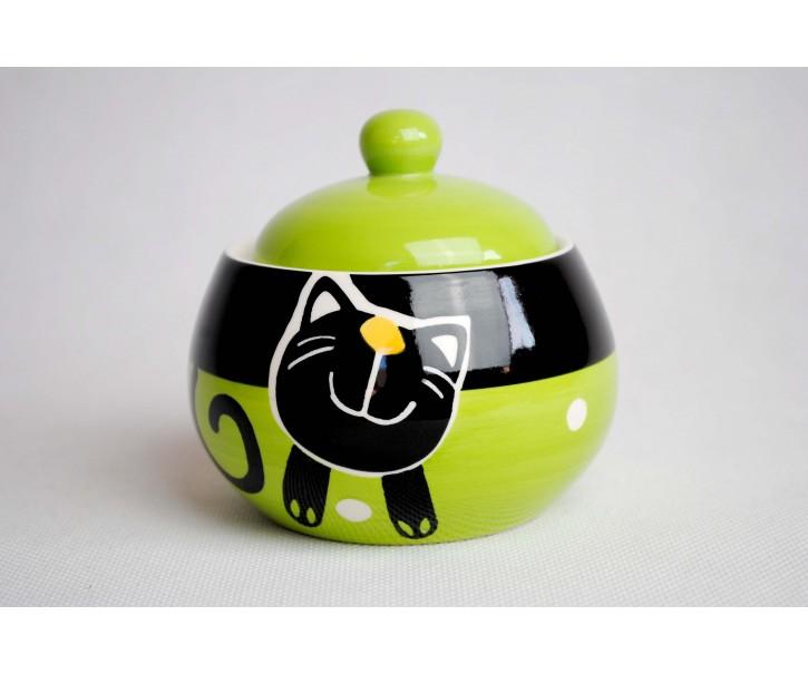 Cukřenka zelená veselá kočka