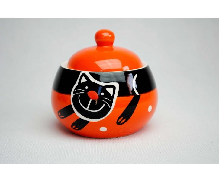 Cukřenka oranžová veselá kočka