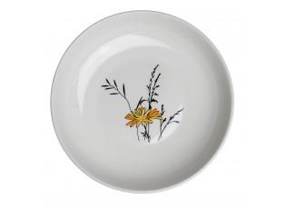 Hluboký talíř Louka žluté květy - Ø 23 cm