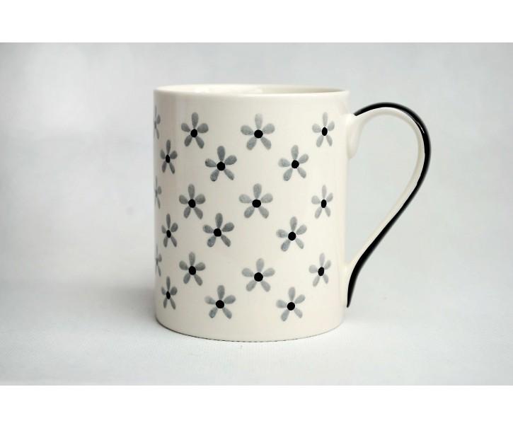 Hrneček bílý Snow flower 0,3l