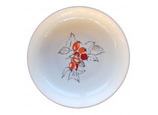Hluboký talíř Babiččiny šípky - Ø 23 cm