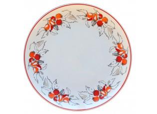 Mělký talíř Babiččiny šípky - Ø 27 cm