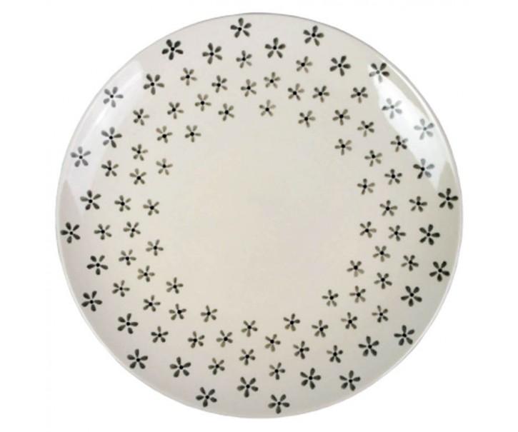 Mělký talíř Snow Flower - Ø 27 cm