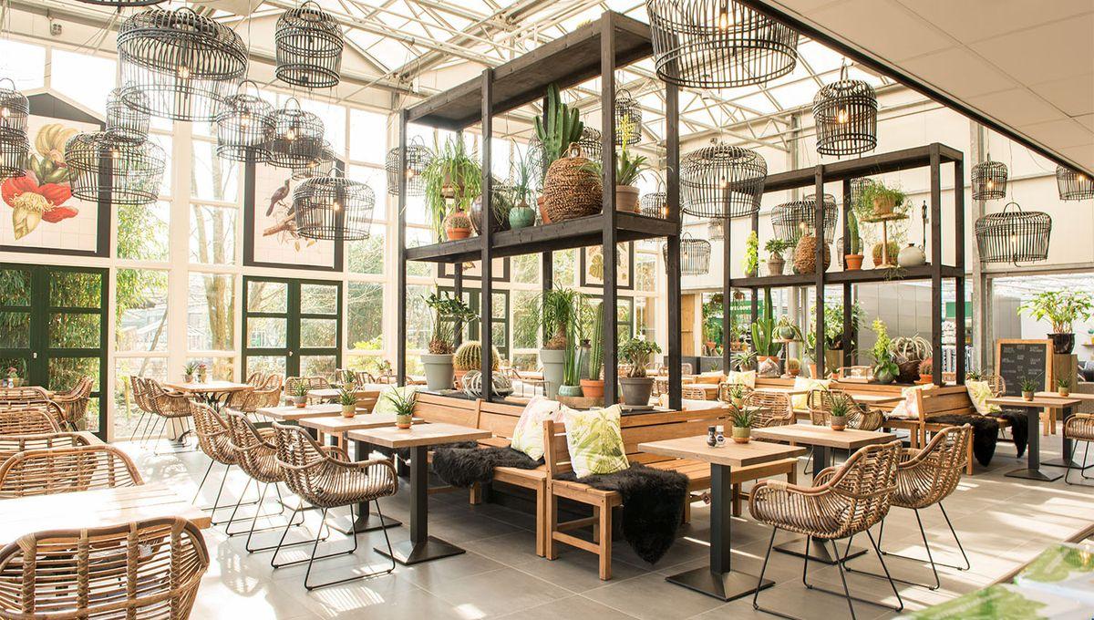 Vybavení restaurací a kaváren